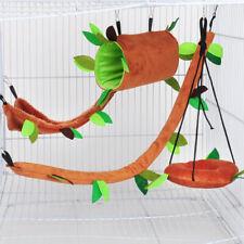 Pet Hamster Bird Ferret Rat Squirrel Hanging Cage Nest Bed Cushion Hammock Toys