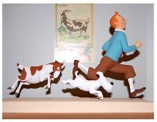 TIM & STRUPPI und die Ziege Figur Statue Tintin 18cm Limitiert Herge NEU (L)