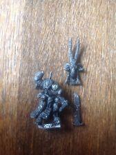 Warhammer. Chaos Beastmen Lord Khazrak One Eye (a). Incomplete. Metal.