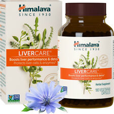 Himalaya LiverCare for Maintaining Liver Health - 180 Vegetarian Capsules