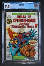 WHAT IF? #1 ORIGIN 1st Spider-Man Joins Fantastic Four Marvel TV CGC NM+ 9.6