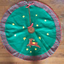 Reindeer Felt Tree Skirt