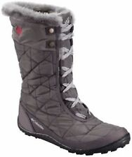 Columbia Minx Mid II Omni Heat Womens Winter Boots 9 Shale Gray Waterproof (8.5)