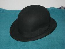 Antique Vintage LOMAN of New York Men's Bowler Derby Hat 6 7/8 United Hatters
