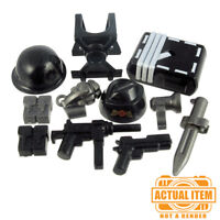 Custom SPECIAL FORCES WWII Accessory Pack for Lego Minifigures -NEW Weapons