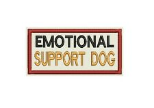 Emotional Support Dog Patch Custom Embroidered tag, badge