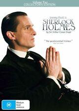 SHERLOCK HOLMES : VOLUME 2 - Jeremy Brett (DVD, 3-Disc Set, Free Postage)