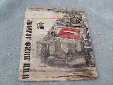 WWII MICRO ARMOUR - GHQ - BRITANNIA PEWTER - 1:285 SCALE - ARMOUR VEHICLES - NIP