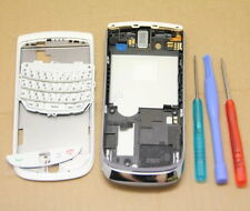 OEM WHITE FULL HOUSING COVER CASE FOR BLACKBERRY TORCH 9800 FASCIA REPLACEMENT