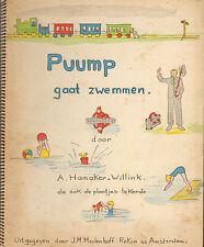PUUMP GAAT ZWEMMEN - A. Hamaker-Willink (1937)