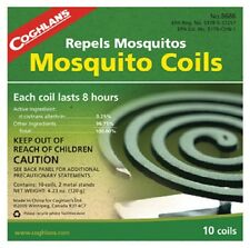 Coghlans 10 Pack, Mosquito Coil, Kills & Repels Mosquitoes 8686