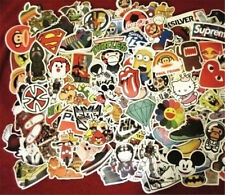 2018 New 100pcs/lot Skateboard Sticker Graffiti Laptop Luggage Car Decals Mixed