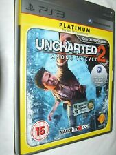 Uncharted 2: Among Thieves - Platinum  for Sony Playstaion 3 Game NEW & SEALED