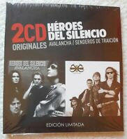 "Heroes del Silencio ""Avalancha /Senderos de traicion - CD x2 New Sealed digipack"