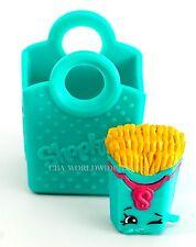 Shopkins Season 3 - Super Shopper Pack Exclusive - Teal Green Fiona Fries w/ bag