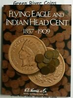 Indian Head Cent Starter Collection#10IHN in  New Harris Coin Folder With Coins