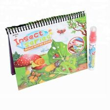 Magic Water Coloring Book - Insect World Series