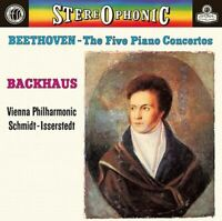 New Backhaus Beethoven Five Piano concertos Overtures SACD TOWER RECORDS Limited