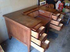 Antique 1950's Standard Furniture Typewriter Desk Herkimer County N.Y. Rare