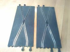 scalextric classic C182 track crossover lane change