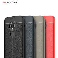 For Motorola Moto E5/Moto G6 Forg/ G6 Play PU Leather Soft TPU Shockproof Case