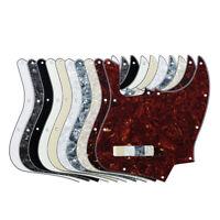 New One 4-String JB Bass Pickguard Scratch Plate & Screws for FD Jazz Bass
