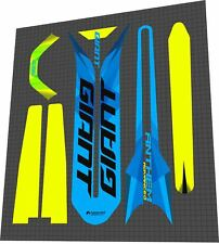 GIANT Anthem Advanced 2017 Frame Sticker / Decal Set