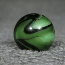 """NICE ALLEY AGATE PISTACHIO SWIRL MARBLE    5/8 """" 0.619"""""""