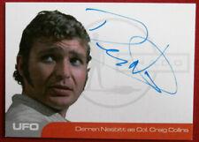 UFO - DERREN NESBITT - BLACK AND BLUE VARIANT - Autograph Card (DN2)