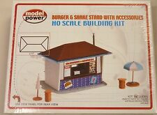 Model Power HO Burger & Shake Drive In Building Kit 184 New