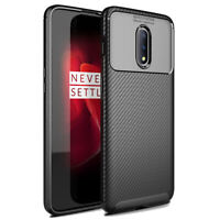 For OnePlus 7 / 7 Pro Case Slim Carbon Fiber Texture Shockproof Soft TPU Cover