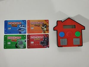 Monopoly Junior Electronic Banking - Banking Unit & 4 Cards - Replacement Parts