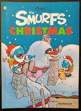 The SMURFS CHRISTMAS #1 Graphic Novel (TPB) (2017 Papercutz Books Comics) VF/NM