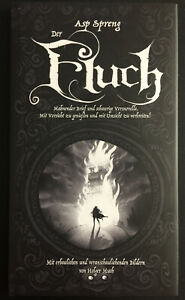"""ASP & Holger Much: """"Der Fluch"""" Buch SIGNIERT von Asp, NEU"""