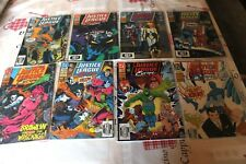 lot de 8 JUSTICE LEAGUE EUROPE 29  30 31 32 33 34 35 & 36DC COMICS us vo