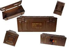 SCATOLA Munizioni britannico PMD 238 Marrone Usato cassa lagerbox