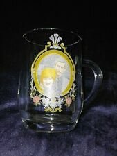 Vintage Glass Tankard Half Pint Prince Charles & Lady Diana Wedding