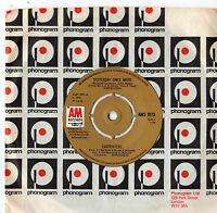 """Carpenters - Yesterday Once More 7"""" Single 1973"""