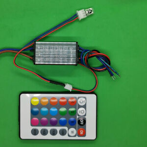10W Waterproof AC LED Driver 24V Power Supply for RGB Light Lamp +Remote control