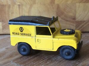 RARE BUDGIE TOYS No.268. A.A. LAND ROVER ROAD SERVICE VEHICLE. ISSUED 1962-64.