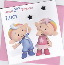 Personalised Handmade Cloud Babies 1st, 2nd, 3rd, 4th Birthday Card