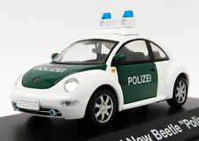 Schuco 1/43 Scale Model Car 22818A - VW New Beetle - Polizei