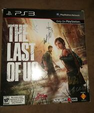 The Last of Us Display Signed By 13. Troy Baker, Ashley Johnson, Neil Druckmann