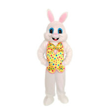 Halloween Easter Rabbit  Bunny Mascot Costume Easter Rabbit Fancy Dress Outfit