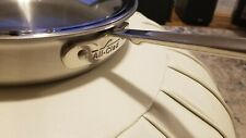 All-Clad D5 3 Qt. Saute Pan With glass Lid - Brushed Stainless steel.