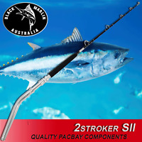 Short Stroker BENT BUTT Game Fishing Rod 24kg Trolling Lures etc Marlin Tuna BMA