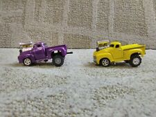 1:64 Muscle Machines 1956 Ford Pulling Truck 1953 Chevrolet Pulling Truck 2wd