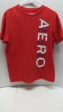 Aeropostale Mens T-Shirt with Stitched Letters Size medium Red