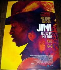 JiMi ALL iS BY MY SiDE Jimi Hendrix Rock Blues Guitar DUTCH ONE SHEET POSTER