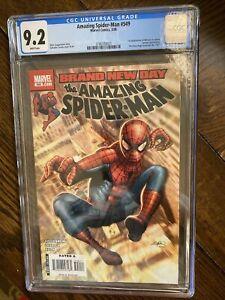 Amazing Spider-Man #549 Marvel Comics Book 3/08 Spider Man CGC 9.2 Menace 1st Ap